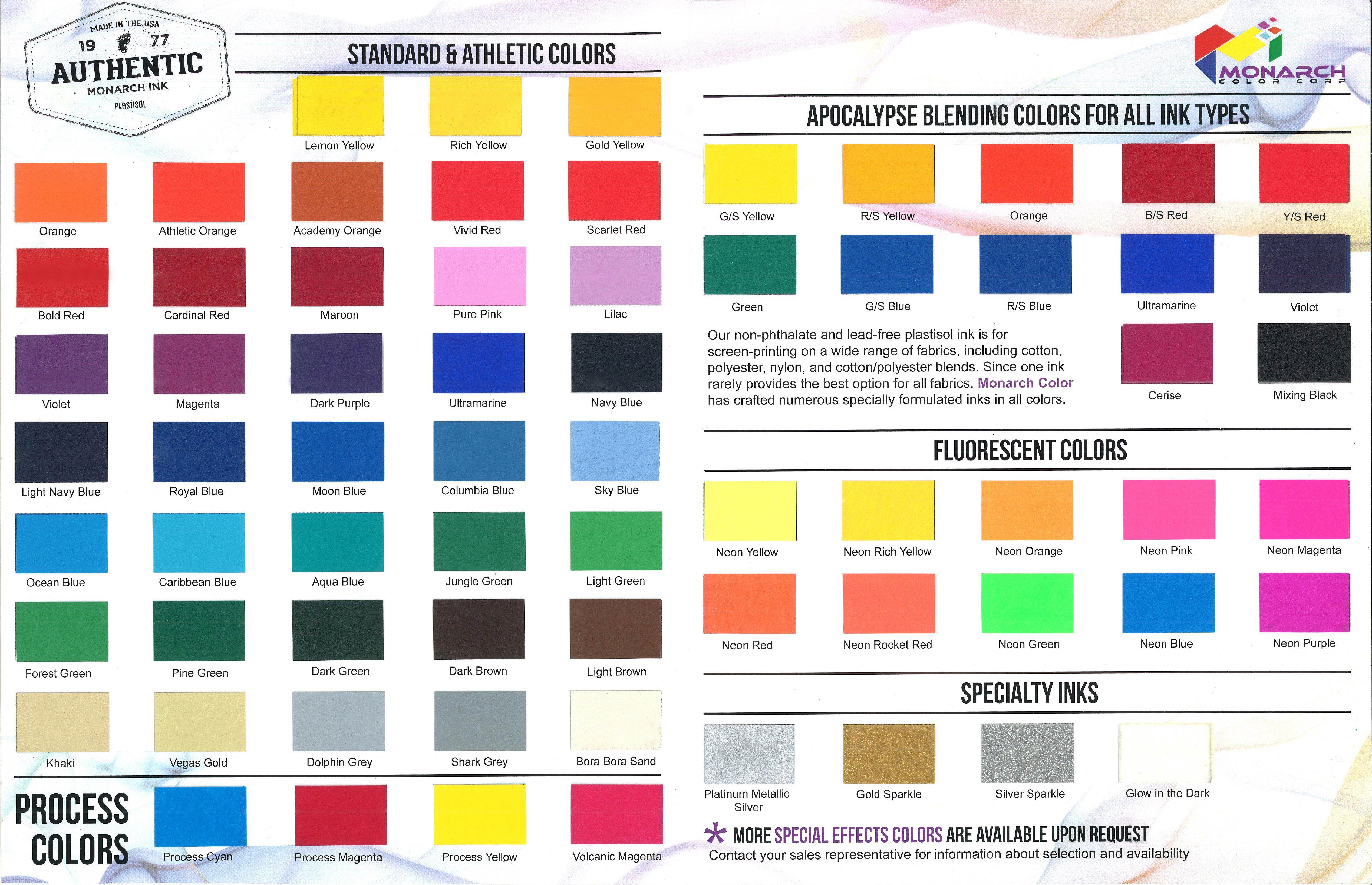 Booklet For Web 7 3 18 Monarch Color Corporation Monarch Color