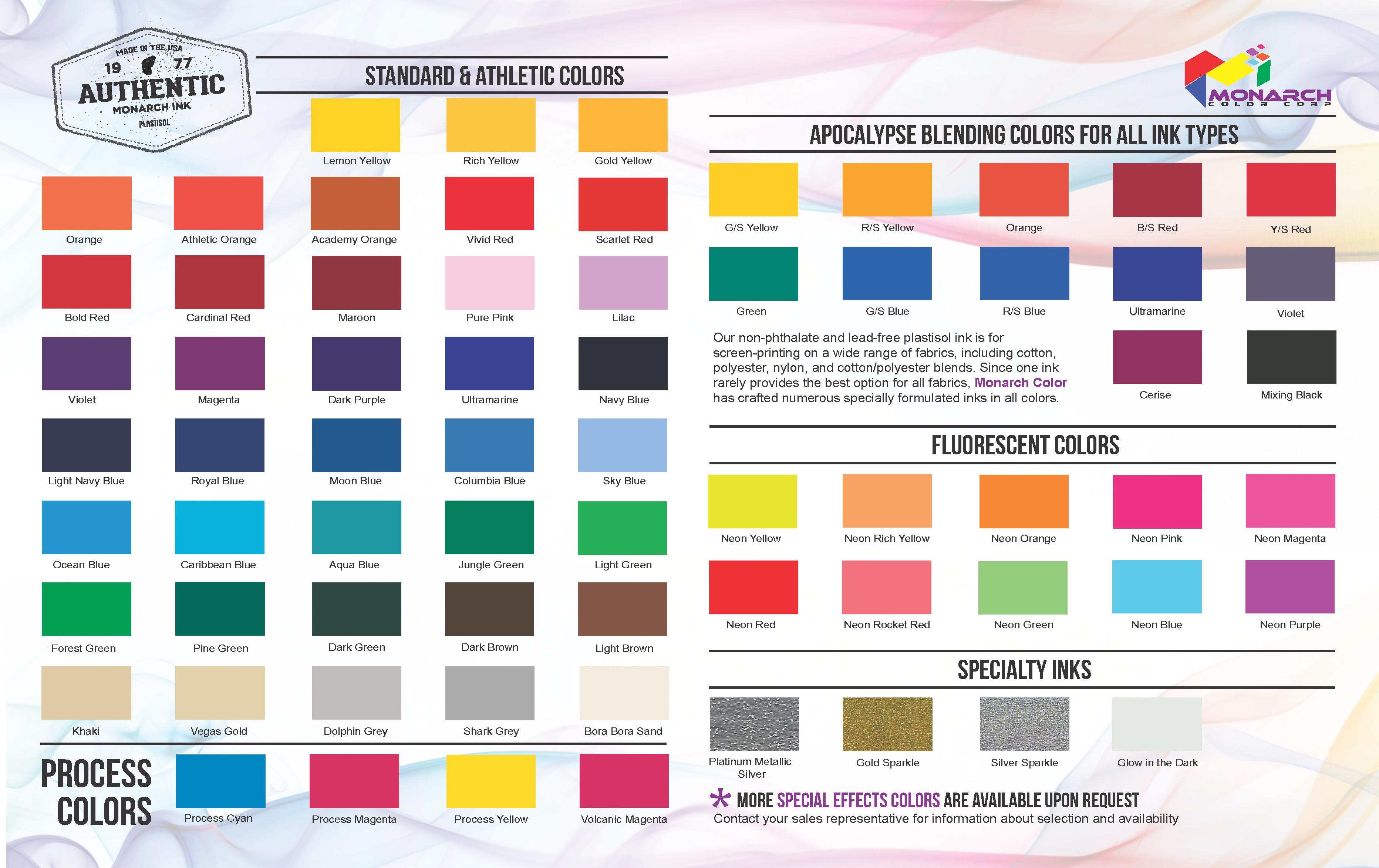 Plastisol Screen Printing Inks  Low Temp Plastisol Ink  High Opacity
